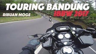 TOURING RATUSAN Harley Davidson !!! - INTERNATIONAL BANDUNG BIKE WEEK 2017