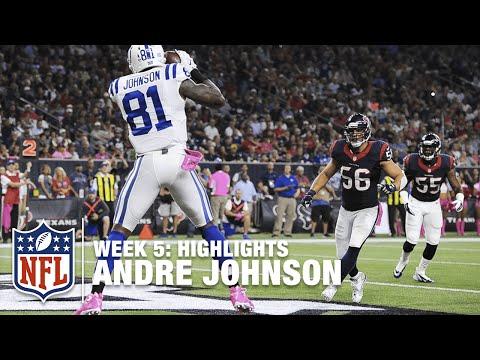 Andre Johnson Highlights (Week 5) | Colts vs. Texans | NFL