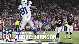 Indianapolis colts wr andre johnson had two touchdowns in a satisfying win against his former team, the houston texans.subscribe to nfl channel t...