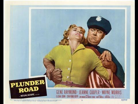 Plunder Road 1957    , Film Noir,  Elisha Cook Jr.