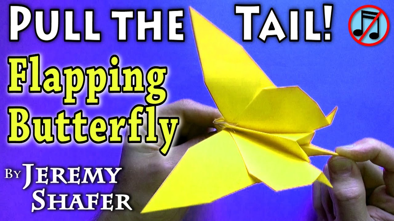 Pull-the-Tail Flapping Butterfly (no music) - YouTube - photo#48