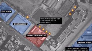 Уничтожение ракетных точек около больницы в Газе: видеосвидетельство
