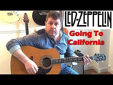 How To Play Led Zeppelin - Going To California - Guitar Lesson