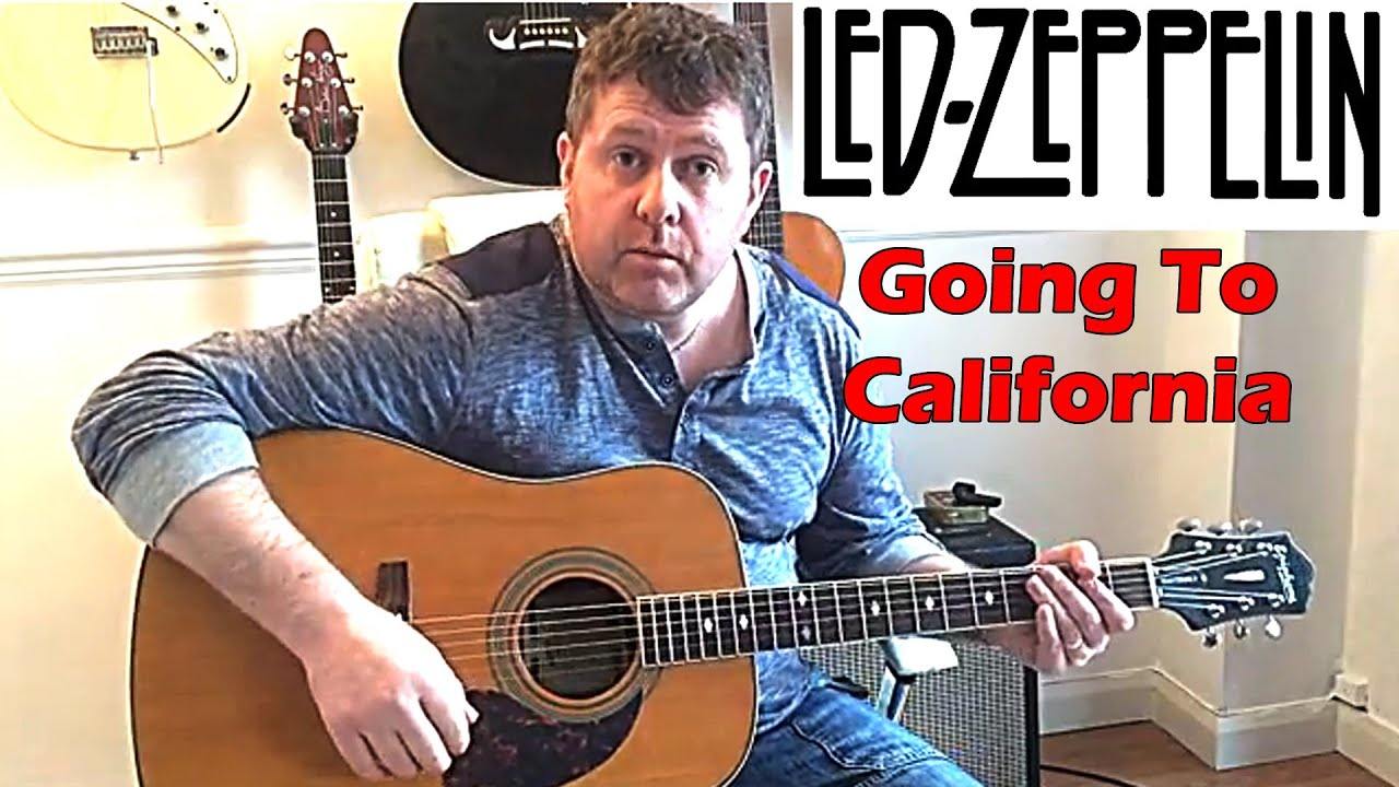 How To Play Led Zeppelin Going To California Guitar Lesson Youtube