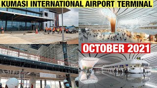 OCTOBER UPDATE THE KUMASI INTERNATIONAL AIRPORT NEW TERMINAL IS THE MOST TALKED ABOUT PROJECT TODAY