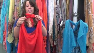 How to Make a Vest from a Scarf!