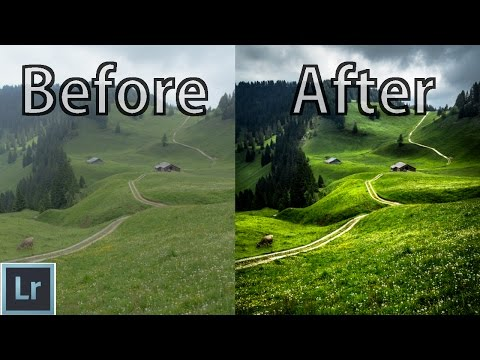 Landscape Photography Editing in Lightroom 5/6 - From The RAW File to the Finished Photo! - WME #004