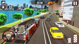 Fire Truck Driving Rescue 911 Fire Engine Games Android Gameplay