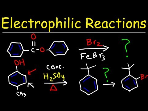 Electrophilic Aromatic Substitution Reactions Made Easy!