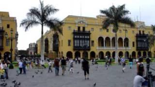 Lima - Plaza Mayor , Plaza de Armas of Lima (Peru)