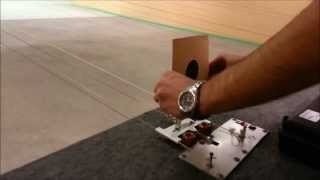 Amazing 2014 10m air pistol shooting