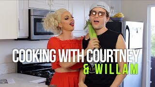 Cooking with Courtney Willam