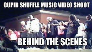 Cupid Cupid Shuffle Music Video Behind the Scenes