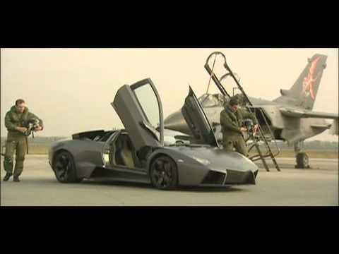 Lamborghini Vs Jet Fighter Youtube