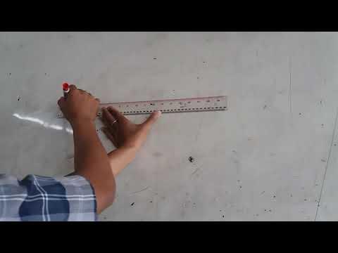 Membagi garis menjadi 2 sama panjang
