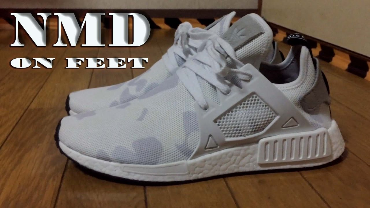 online store 2b81d bab77 NMD XR1 Camo White Preview + On Feet