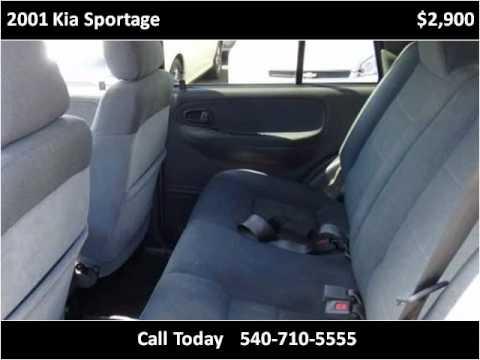 2001 Kia Sportage Used Cars Fredericksburg VA