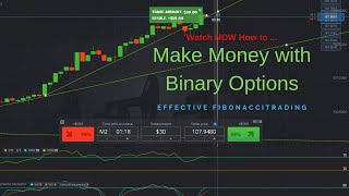 Make Money Binary Options - Fibonacci & Price Action Binary Options Strategy Trade Example