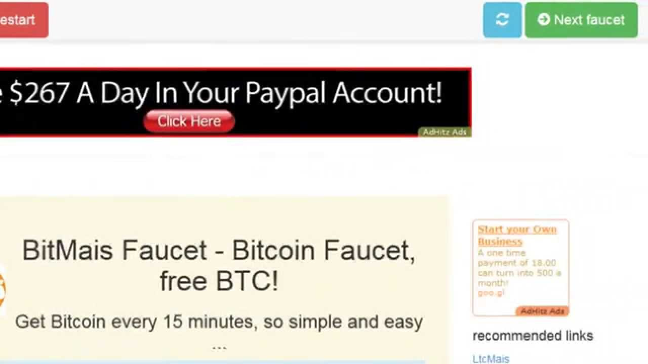 Bitcoin Faucet List 2015 FREE Bitcoins BTC - YouTube