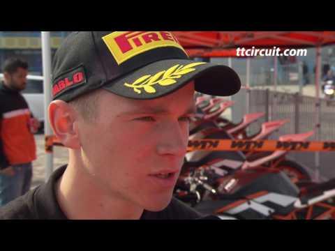 WK Superbike 2017: interview Glenn van Straalen