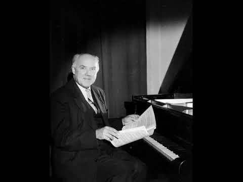 Walter Gieseking - 1944 Radio Suisse broadcast