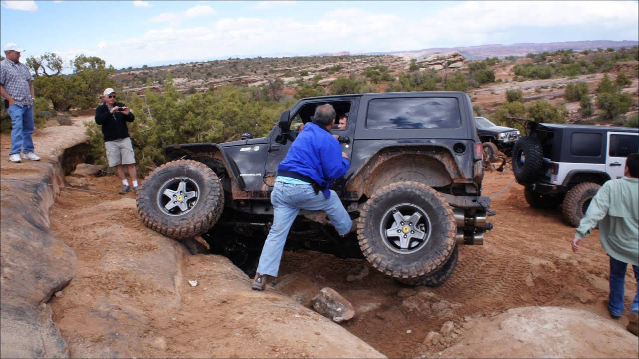 Amazing Moab, UT Easter Jeep Safari 2014   YouTube