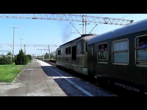 """Pociąg specjalny """"Sonderzug"""" Cottbus - Wolsztyn (ST43-170)"""