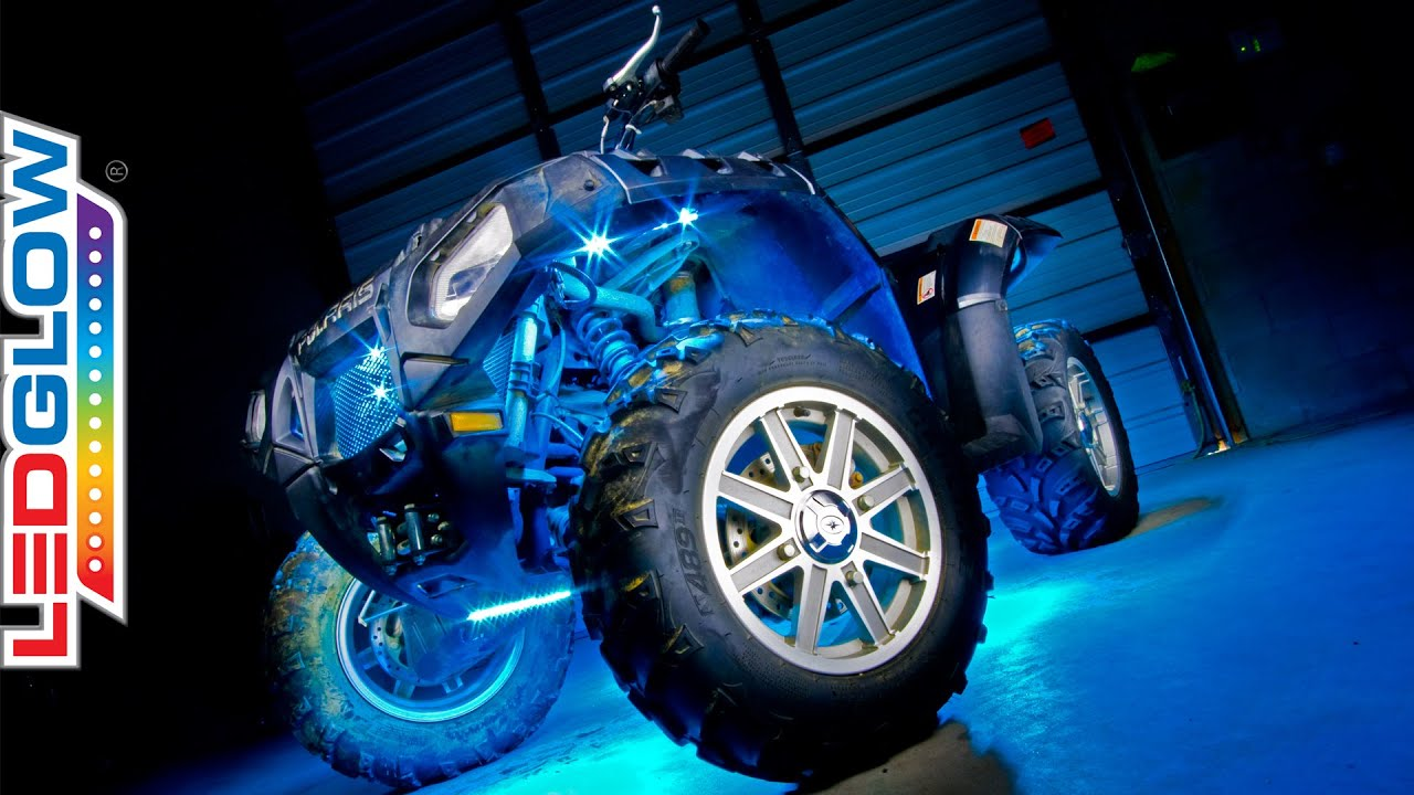 LEDGlows Advanced Million Color ATV LED Lighting Kit