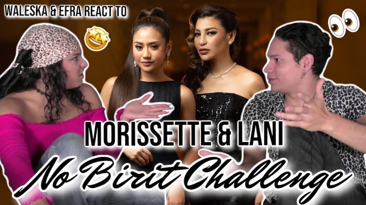 Download LANI MISALUCHA & MORISSETTE -  NO BIRIT Challenge LIVE | Waleska & Efra react