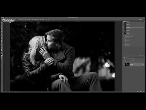Как сделать черно-белое фото в фотошопе?