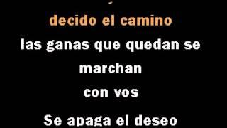 """Gustavo Cerati y Bajofondo """"El mareo"""" DEMO PISTA KARAOKE INSTRUMENTAL"""