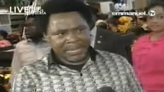 SCOAN 03/08/14: Live Prophecy Time & Deliverances With TB Joshua, Emmanuel TV