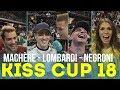 Stänkern beim Kiss Cup 2018   Leon Machère   Pietro Lombardi   Daniele Negroni