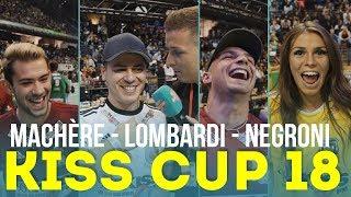 Stänkern beim Kiss Cup 2018 | Leon Machère & Pietro Lombardi & Daniele Negroni