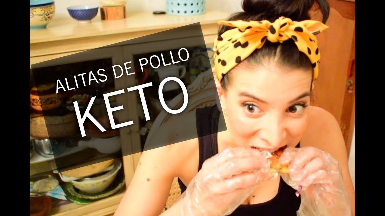Están bien las alitas de pollo fritas en la dieta keto