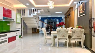 Bán nhà Gò Vấp|( 42 ) Nhà rẻ 5.08 tỷ diện tích 4.5m thiết kế lững 2 lầu rất đẹp tại Quang Trung