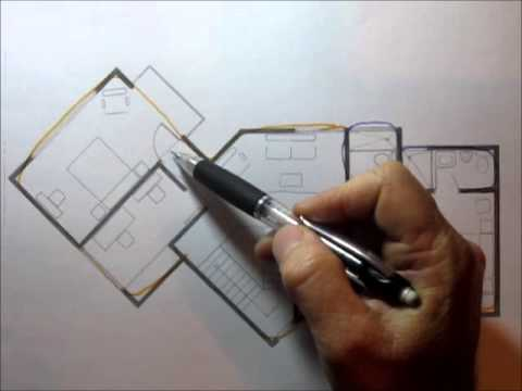 Dise o de una casa de tres pisos 2 de 2 youtube for Casa de diseno henry beltran