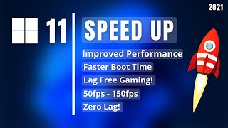 Speed Up Windows 11 (2021)   How to Make Windows 11 Faster!   Optimize Windows 11 for Gaming! screenshot 5