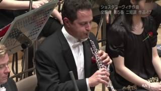Shostakovich 5 Oboe Solo (2014 PMF Orchestra, Yutaka Sado, conducting, Eugene Izotov, oboe)