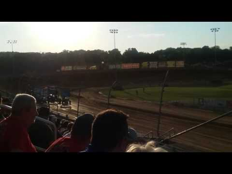 World of Outlaws Heat 4  Lawrenceburg Speedway