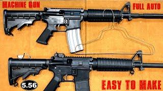 The Coat Hanger Machine Gun, How It Works
