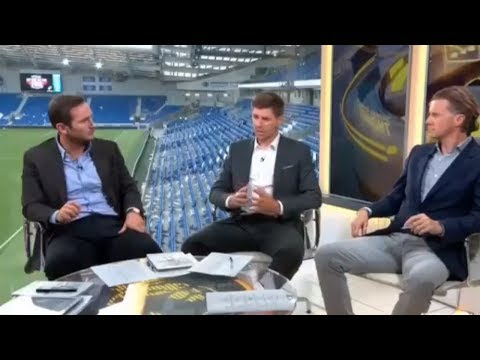 Chelsea vs Burnley (2-3) Post Match Analysis by Lampard & Gerrard 2017