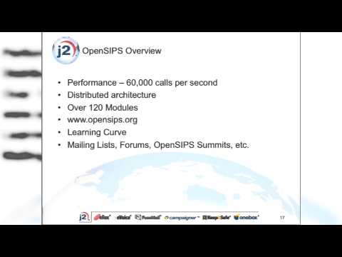 Distrubution Redundancy and High Avail using OpenSIPS- AstriCon 2014