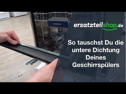 Constructa Siemens Geschirrspüler Türdichtung Dichtung unten 00298534
