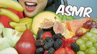 ASMR GIANT FRUIT PLATTER (EATING SOUNDS) NO TALKING | SAS-ASMR