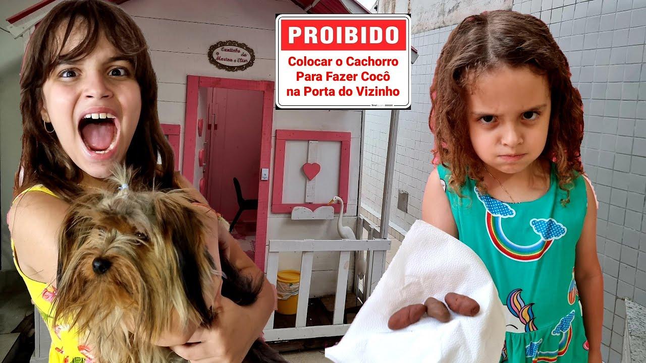 REGRAS DE CONDUTA PARA VIZINHOS 3 - Clubinho da Marina e Elisa