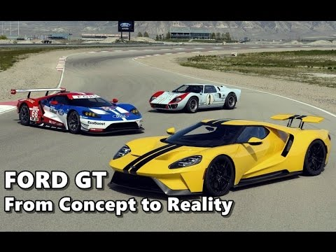 New Ford GT Documentary - Concept to Reality