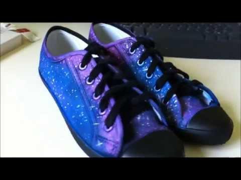 ♥ DIY ♥ | Galaxy Shoes