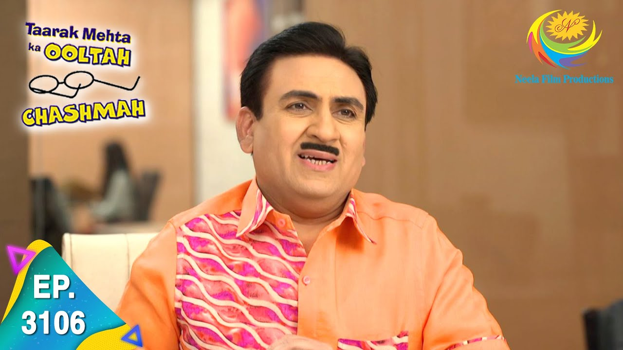 Download Taarak Mehta Ka Ooltah Chashmah - Ep 3106  - Full Episode - 19th February, 2021