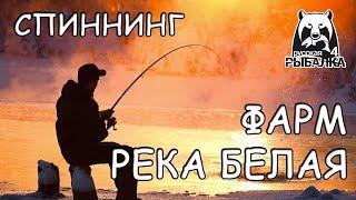Русская рыбалка 4 Спиннинг Фарм Река Белая